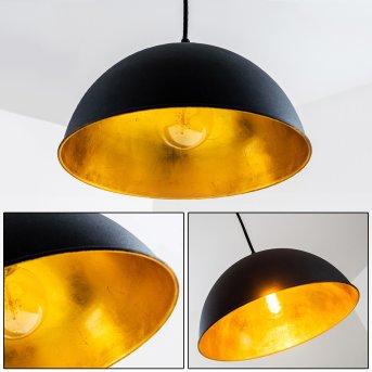 Reality Jimmy pendant light black, 1-light source