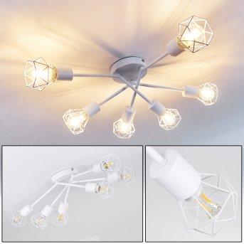 Baripada Ceiling Light white, 6-light sources
