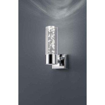 Trio Serie 2824 wall light LED chrome, 1-light source