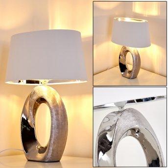 Rovio Table Lamp silver, 1-light source