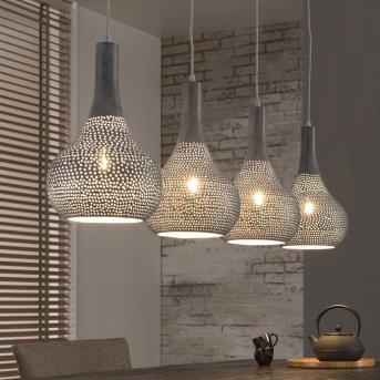 WILDERVANKSTERDALLEN Pendant Light grey, 4-light sources
