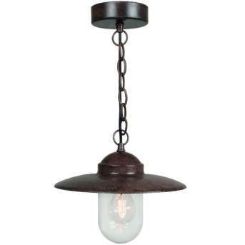 Nordlux LUXEMBOURG pendant light rust-coloured, 1-light source