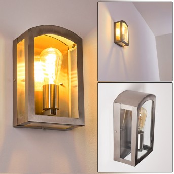 Chipola Outdoor Wall Light stainless steel, 1-light source