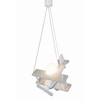 Waldi FLUGZEUG Pendant Light grey, white, 1-light source