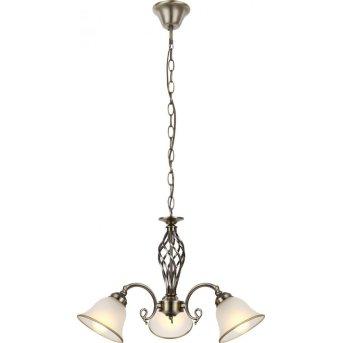 Globo chandelier white, 3-light sources