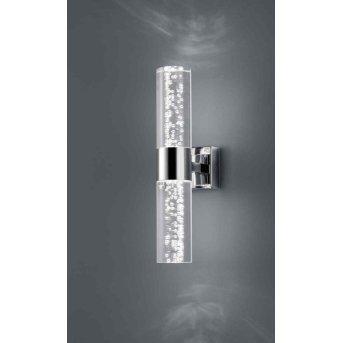 Trio Serie 2824 wall light LED chrome, 2-light sources