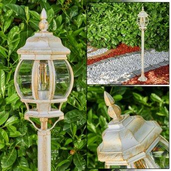Lentua outdoor Floor Lamp gold, 1-light source