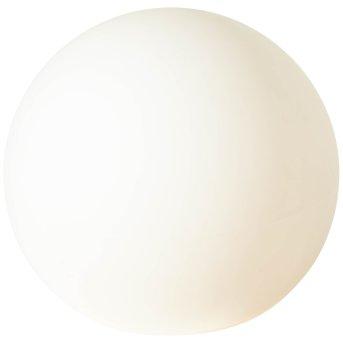 Brilliant GARDEN globe light white, 1-light source