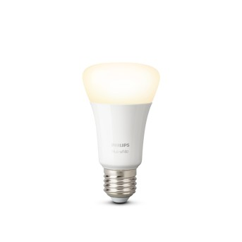 Philips HUE LED White E27 9,5 Watt 2700 Kelvin 806 Lumen