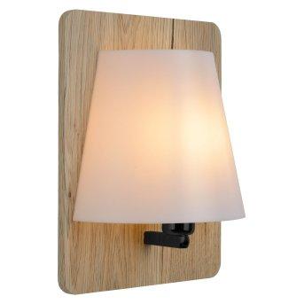 Lucide IDAHO Wall Light Dark wood, 1-light source