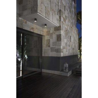 Faro Barcelona Goz Ceiling Light LED grey, 1-light source