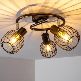 Cancun ceiling spotlight brown, 3-light sources
