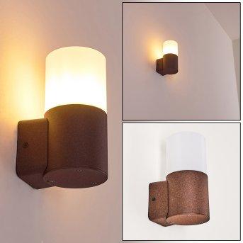 Buhrkall Outdoor Wall Light rust-coloured, 1-light source