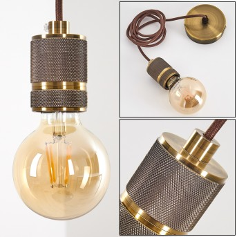 Borex Pendant Light brass, 1-light source