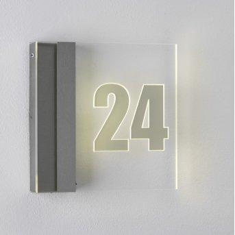 Albert 6006 House number Light LED stainless steel, 1-light source