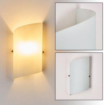PORDENONE Wall Light white, 1-light source