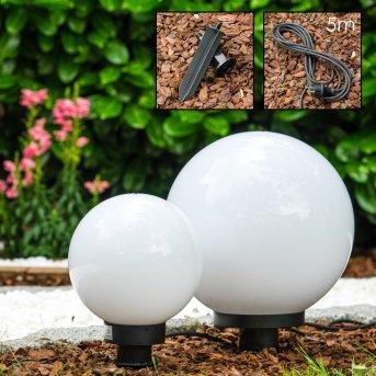 Miau globe light set white, 2-light sources