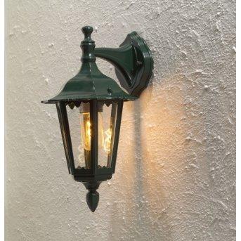 Konstsmide Firenze wall light green , 1-light source