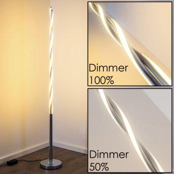 Trio PORTOFINO floor lamp LED chrome, 2-light sources