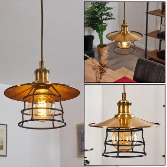 MOENA Pendant Light bronze, antique brass, 1-light source