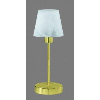 Trio 5955 table lamp brass, 1-light source