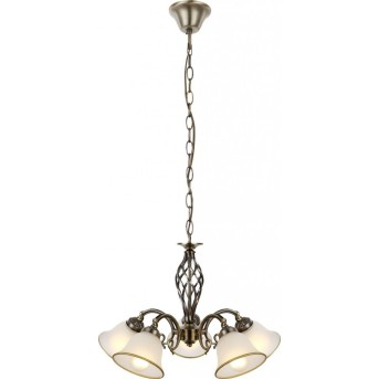 Globo chandelier white, 5-light sources