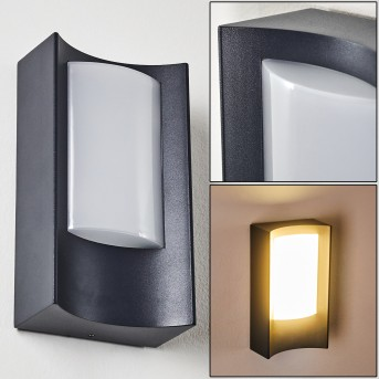 Outdoor Wall Light Nordkapp LED anthracite, 1-light source