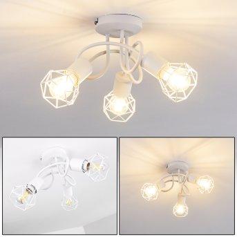 Baripada Ceiling Light white, 3-light sources