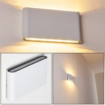 Outdoor Wall Light Tinglev LED white, 2-light sources