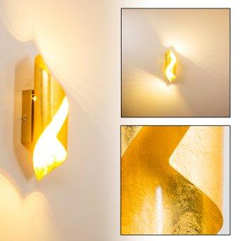 Ogarrio Wall Light LED gold, 2-light sources