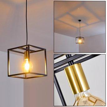 IBUSUKI Pendant Light brass, black, gold, 1-light source