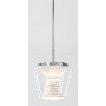 Serien Lighting ANNEX Pendant Light LED aluminium, transparent, clear, 1-light source
