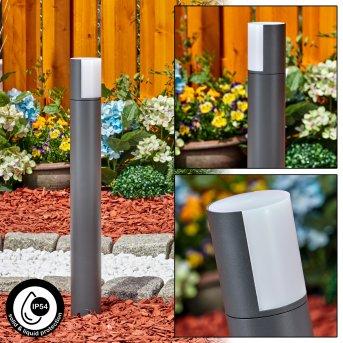 Baulund path light LED anthracite, 1-light source