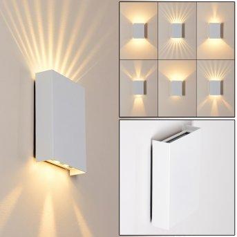 BENIN Outdoor Wall Light LED white, 2-light sources