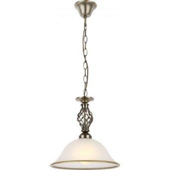 Globo hanging light white, 1-light source