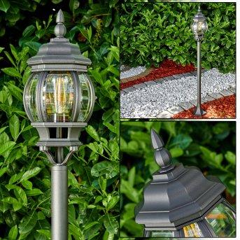 Lentua outdoor Floor Lamp black, 1-light source