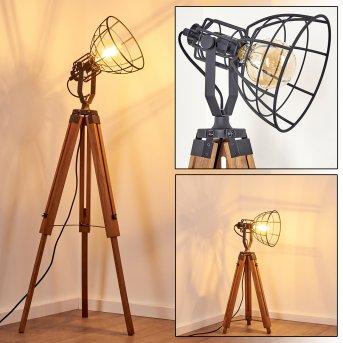 CETONA Floor Lamp Light wood, 1-light source