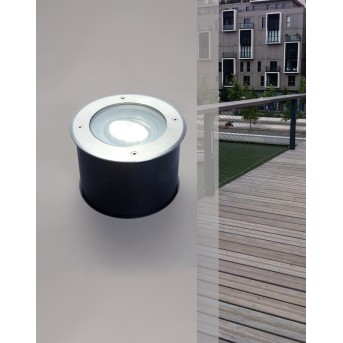 Lutec CYDOPS recessed Ground Light LED anthracite, 1-light source
