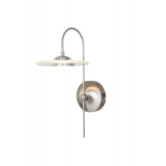 Steinhauer Roundy wall light LED stainless steel, 1-light source
