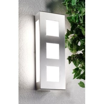 CMD AQUA TRILO Wall Light stainless steel, 2-light sources
