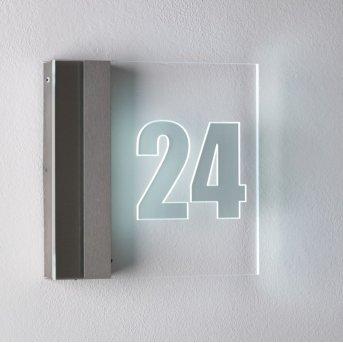 Albert 6007 House number Light LED stainless steel, 1-light source