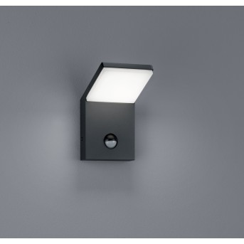 Trio PEARL Outdoor Wall Light LED anthracite, 1-light source, Motion sensor