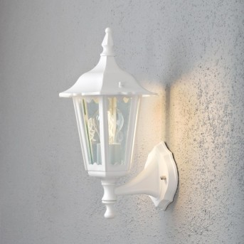 Konstsmide Firenze wall light white, 1-light source
