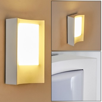 Outdoor Wall Light Lamoliere LED white, 1-light source