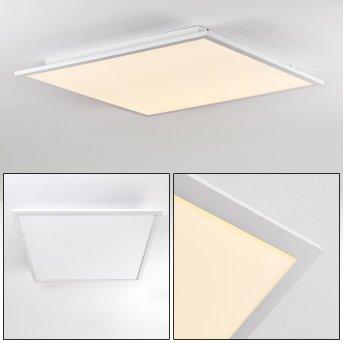 Salmi Ceiling Light LED aluminium, white, 1-light source