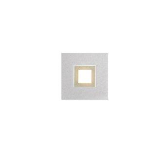 Grossmann KARREE Ceiling light LED aluminium, champagne, 1-light source