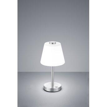 Trio EMERALD Table Lamp LED matt nickel, 1-light source