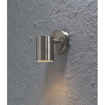 Konstsmide MODENA wall light stainless steel, 1-light source