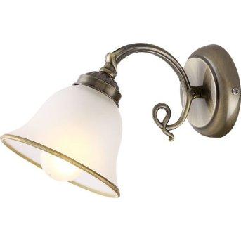 Globo wall light white, 1-light source