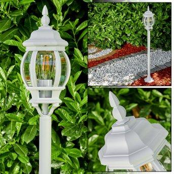 Lentua outdoor Floor Lamp white, 1-light source